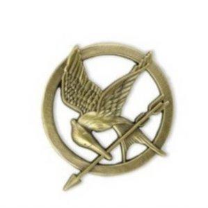 Amazon.com: elegant vintage movies alloy mockingjay badge pin brooch unique jewelry bronze (bronze b): everything else