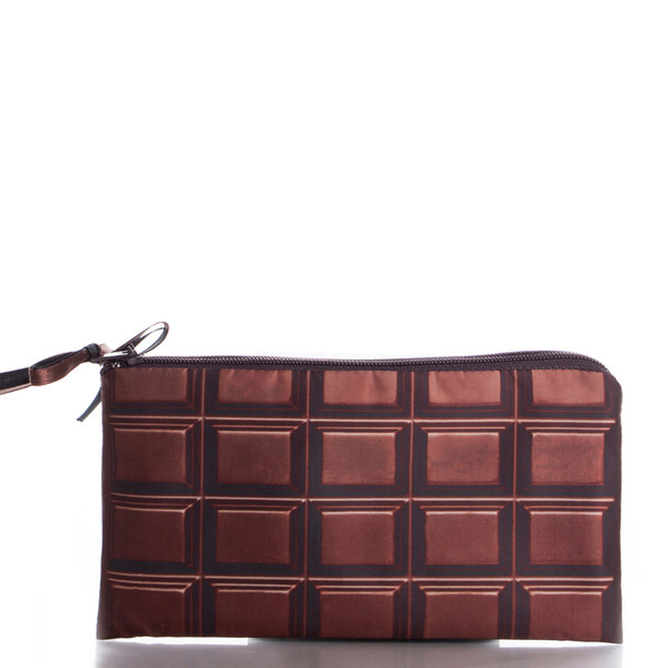 chocolate cosmetic bag cosmetic case holiday gift girly wishlist bag