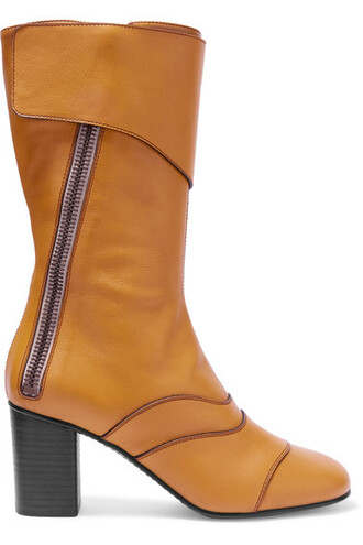 boots leather boots leather mustard shoes