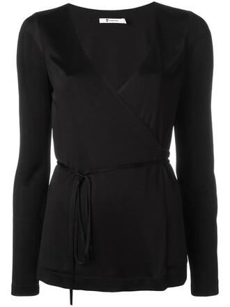top women spandex black silk