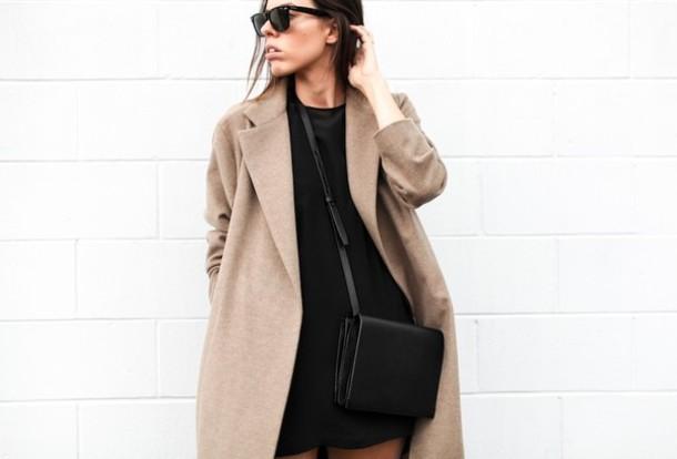 modern legacy coat dress shoes bag sunglasses