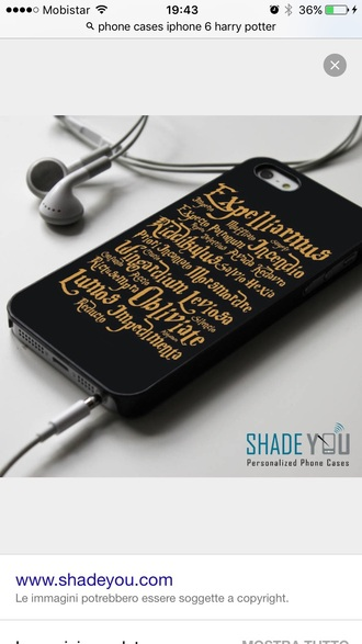 phone cover cover iphone6 harry potter