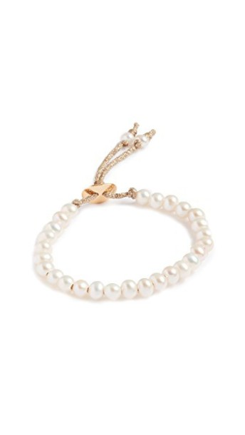 Chan Luu pearl white jewels