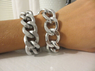 stacked jewelry jewels bracelets etsy chain jewelry matte silver chain statement jewelry arm candy