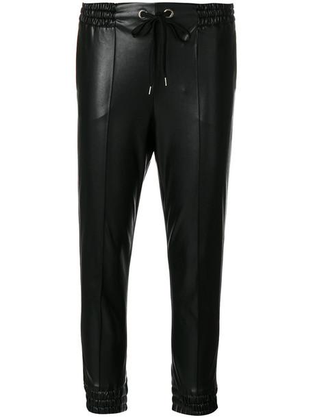 Ermanno Scervino cropped women cotton black pants