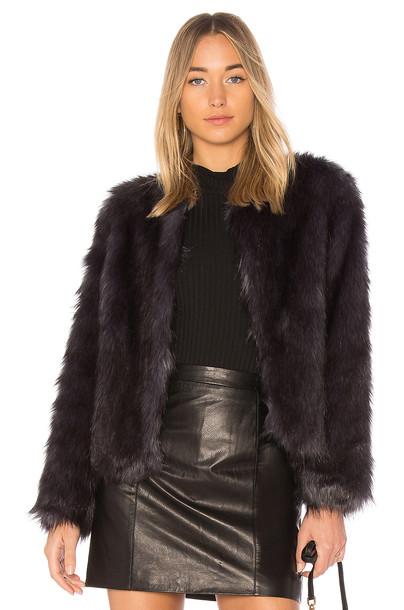 Unreal Fur jacket navy