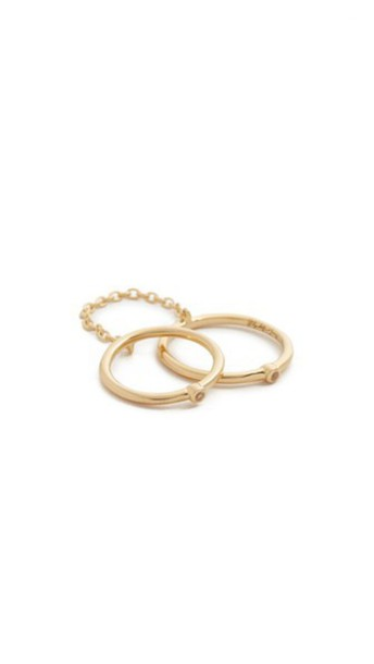 Elizabeth and James ring knuckle ring gold jewels