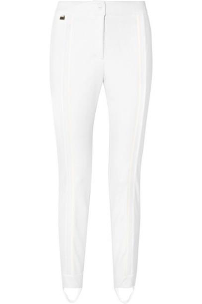 Fendi - Stretch-jersey Stirrup Ski Pants - White