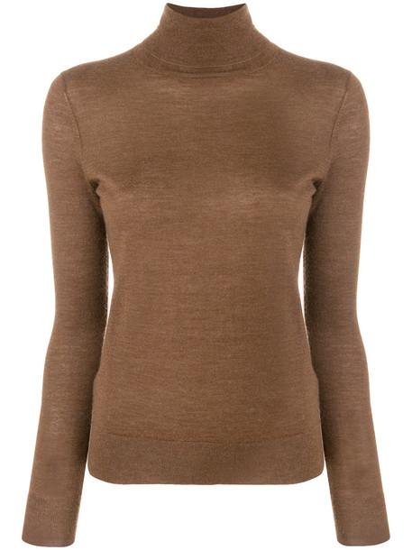 N.Peal jumper women brown sweater