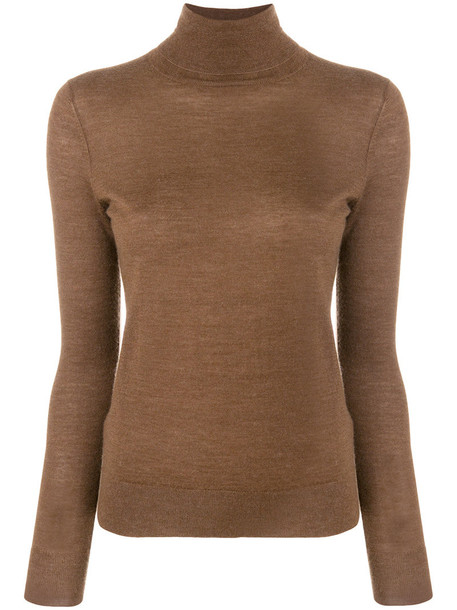jumper women brown sweater