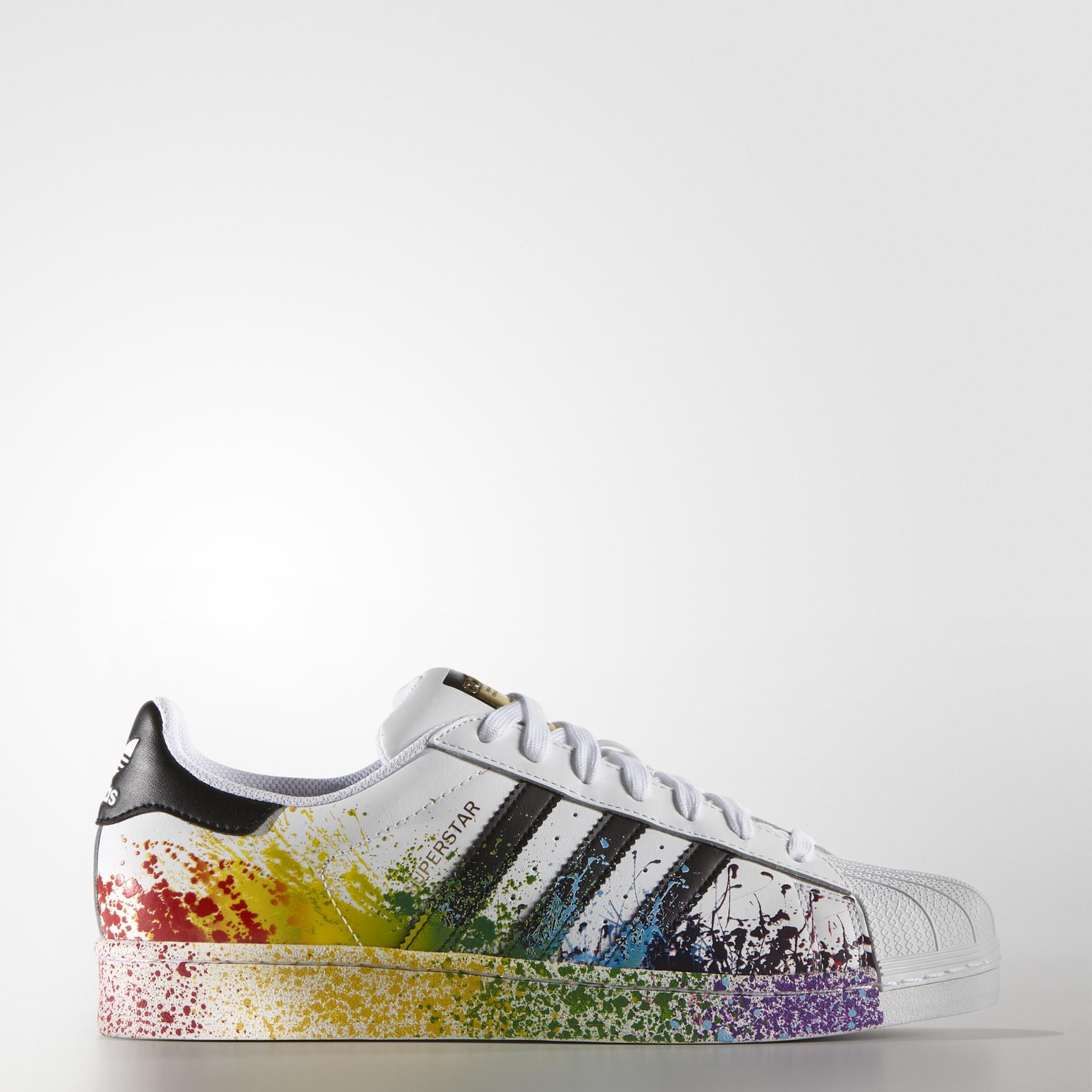size 40 6da64 8e565 ... australia shoes rainbow adidas adidas superstars black and white white  black trainers addias sneakers sneakers gay