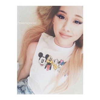 tank top ariana grande mickey mouse