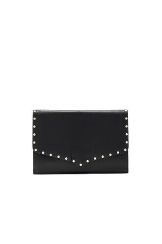 clutch black bag