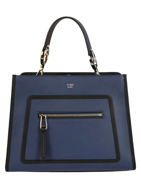 Fendi runway bag shoulder bag blue