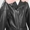 '80s leather aviator jacket by boutique - pink