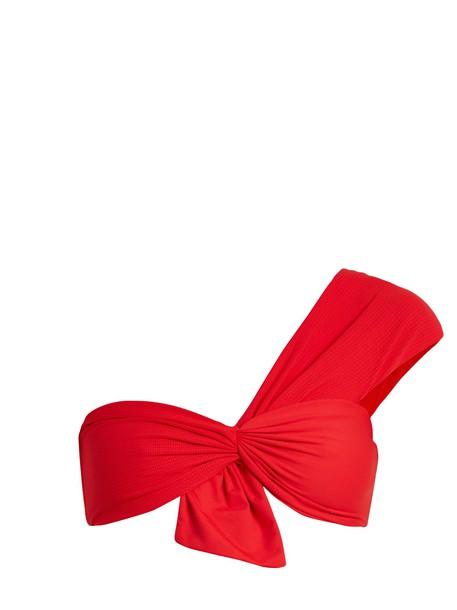 marysia swim bikini bikini top red swimwear
