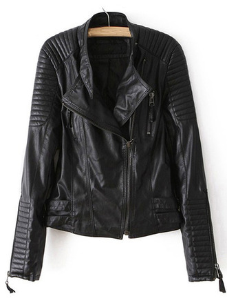 jacket biker jacket clothes leather jacket outerwear