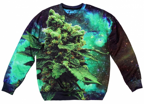 Original SEXY SWEATER SPACE WEED | Fusion® clothing!