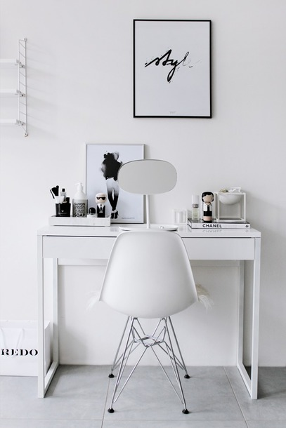 Home Accessory Tumblr Makeup Table Home Decor