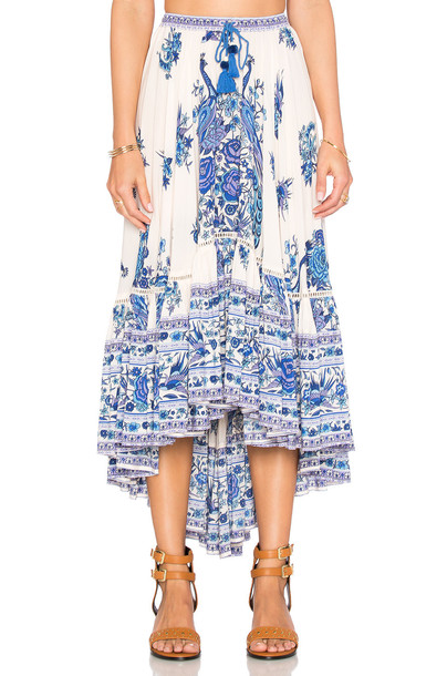 81865f5b6 Spell & The Gypsy Collective Spell & The Gypsy Collective Hotel Paradiso  Castaway Skirt in white