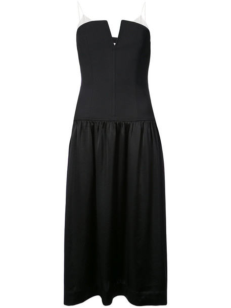 dress midi dress women midi black