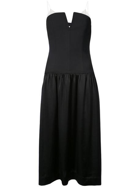 Dvf Diane Von Furstenberg dress midi dress women midi black