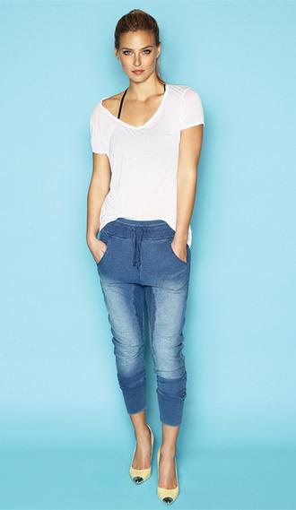 pants denim jeans blue bar refaeli