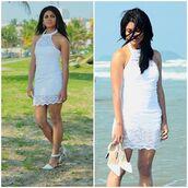 www.sammydress.com,dress,white dress,praia,summer outfits,summer dress,summer crush,shoes,lookbook,chictopia,estilopropriobysir,moda it,fashionblogger,fashionblog,fashionblogging