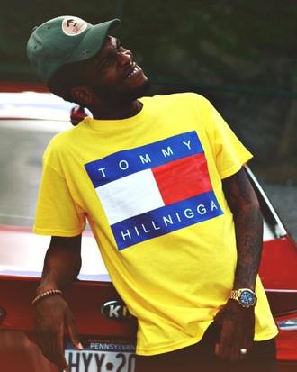 shirt tommy hilfiger yellow fashion tommy hilfiger shirt trendy