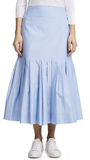 Protagonist skirt pleated blue