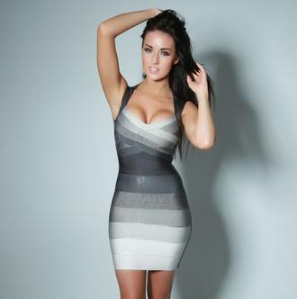 dress ombre dress bandage dress club dresses