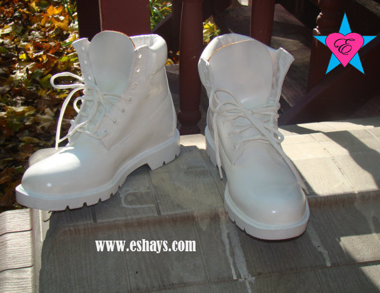 best website 346ab 334b2 Custom White Painted Timberland Boots- Men Women Kids White Timberland Boots