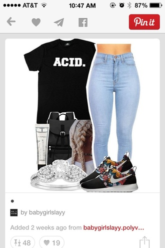 shirt acid wash black t-shirt black top t-shirt white t-shirt letters