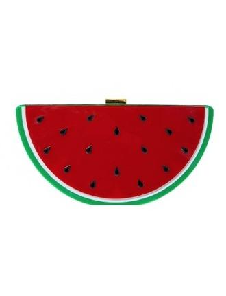 bag watermelon cute clutch summer summer clutch spring bag summer bag fruits fruit bag watermelon clutch red red clutch pixie market pixie market girl