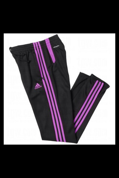 adidas purple sweatpants