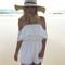 White pom-pom romper – dream closet couture