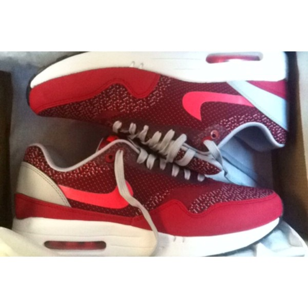 shoes nike air max 1 jcrd red re-issue nike air max 1 nike