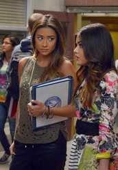 lucy hale,shay mitchell,top,jacket,dress,pants