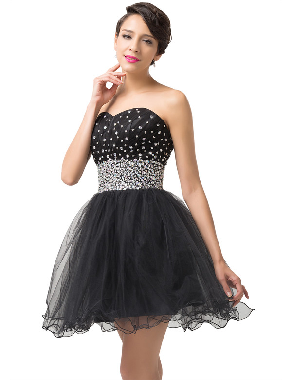 dress prom dress cute black dress sparkle shorts littleblackdress little black dress sherri hill jovani lafemme dresses ruffle summer princess
