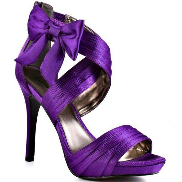 Magenta Shoes Wedding