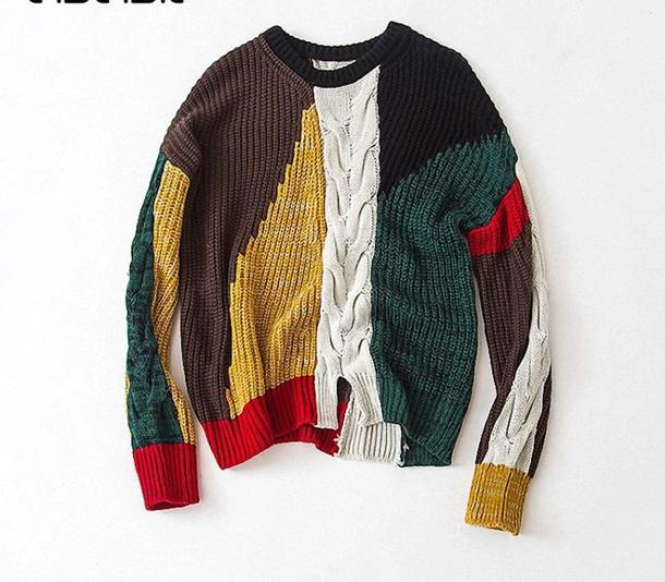 sweater многоцветный и такой же вязки. али экспресс не предлагать)