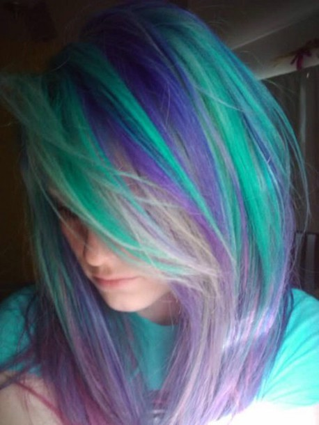 hair accessory pastel hair pastel colors lace long dresds hair dye hairstyles