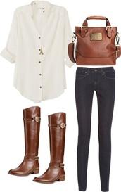 shoes,clothes,bag,blouse