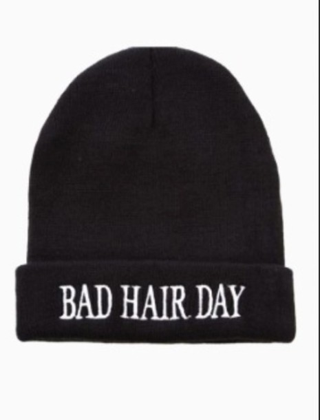 hat black beanie