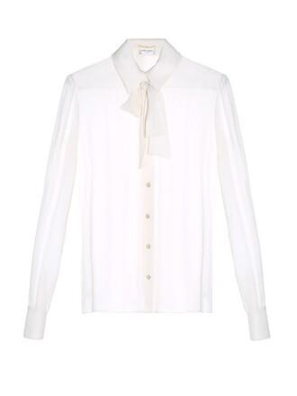 blouse cream top