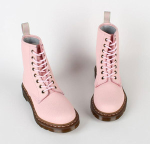 DR Martens 1460 QQ Boots IN Pastel Pink Size 5 | eBay