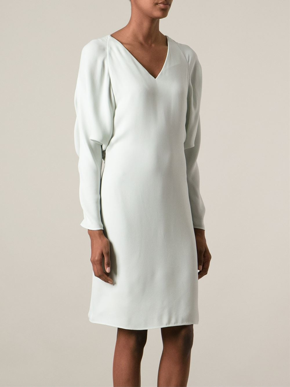 Chloé V-neck Dress - Anita Hass - Farfetch.com