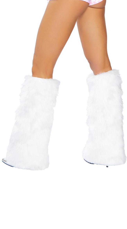 Faux Fur Leg Warmers, Faux Fur Boot Covers, Furry Leg Warmers