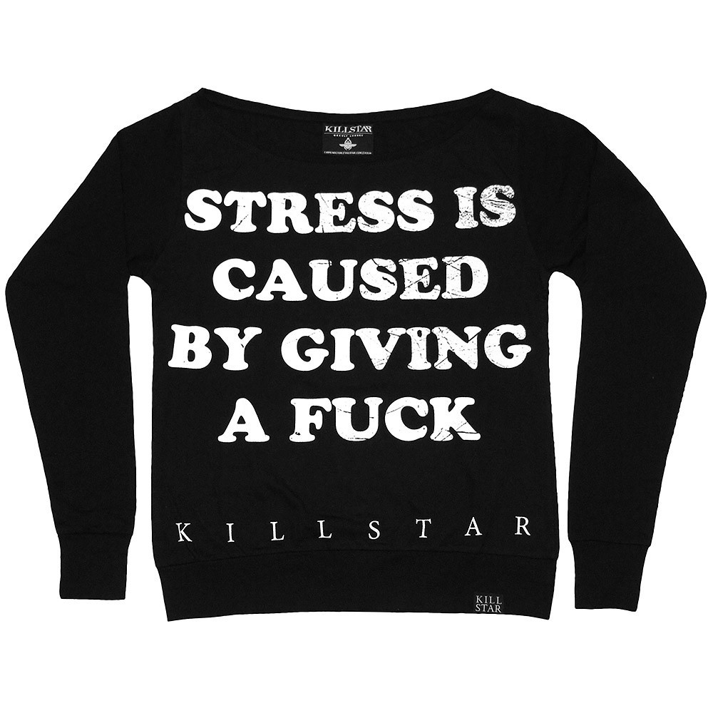 Stress l/s top – killstar