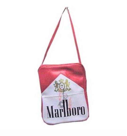 logo print bag